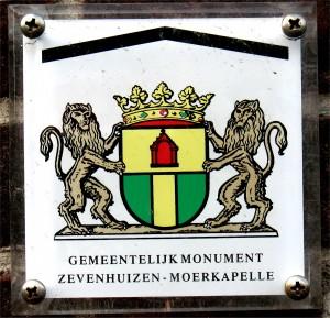 Zevenhuizen - monumentenschild